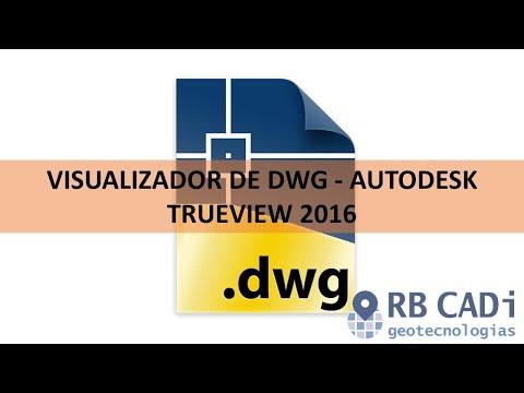 Visualizador de DWG - Autodesk TrueView 2016