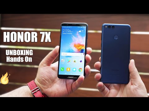 Huawei Honor 7X Unboxing And Hands on | First Impression | Camera