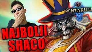 NAJBOLJI SHACO V2 - League of Legends 💥