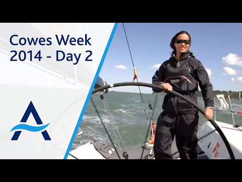 Cowes Week 2014 - Day 2 Highlights