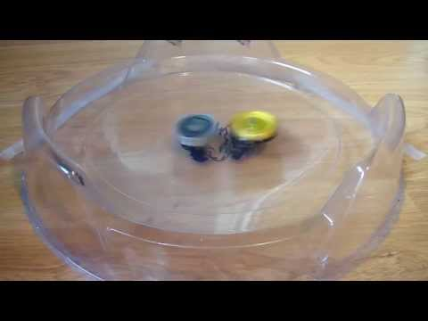 Beyblade Metal Fusion  Fight  Hell Kerbecs BD145DS VS Basalt Horogium 145WD [HD]