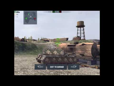 Flying/Disappearing Glitch Copperfield || World of Tanks BLitz
