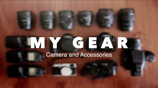 My camera gear: What I film with