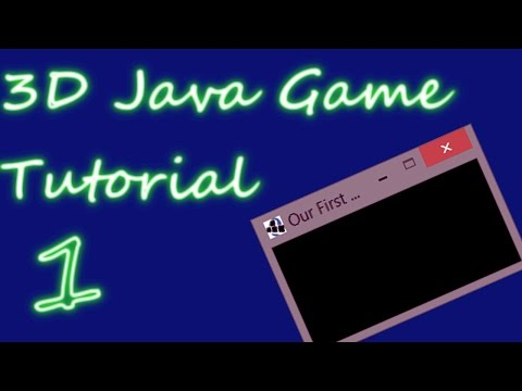 OpenGL 3D Game Tutorial 1: The Display
