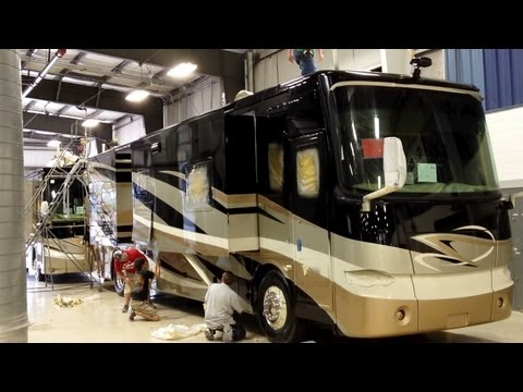 Tiffin Motorhome Factory Tour