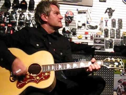 Billy Duffy - 'Fire Woman' - Acoustic - Ducati All Stars - San Francisco - 2010