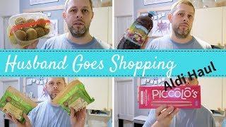 Husband Goes Shopping Again | Aldi Shopping Haul