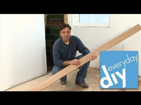 How to Install a Hardwood Floor -- Buildipedia DIY