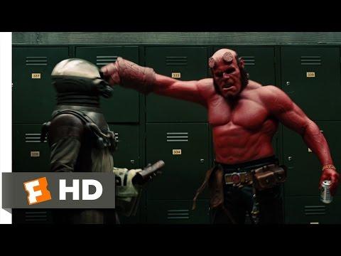 """Hellboy 2: The Golden Army (7/10) Movie CLIP - Hellboy """"Smokes"""" Johann (2008) HD"""