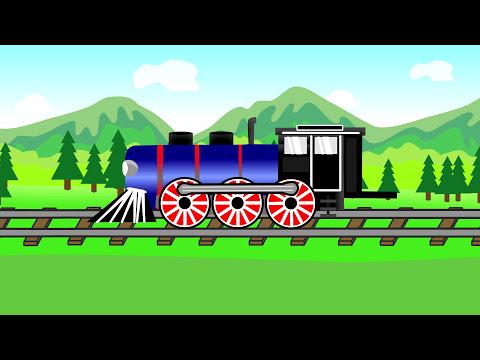 Train | Vehicle For Kids |  Pociąg - Bajki Dla Dzieci _ Ciuchcia