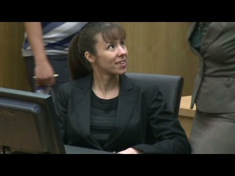 Courtroom reaction when Jodi Arias verdict was read