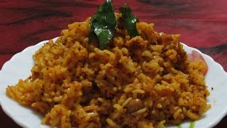 Kaayi saasive anna / mustard and coconut rice
