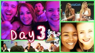 LETZTER TAG. - Party 🎉, Casey Neistat & More! | VidCon Day 3