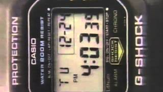 Casio DW-5200 G-Shock Commercial 1988