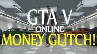 GTA V ONLINE - HOW TO GET A LOT OF MONEY - GLITCH / BUG [AFTER THE PATCH!]