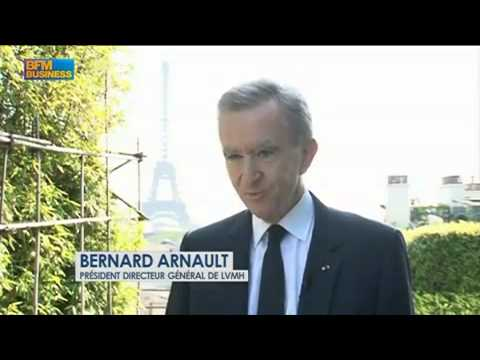 Interview exclusive de Bernard Arnault sur BFM Business à propos de Loro Piana.