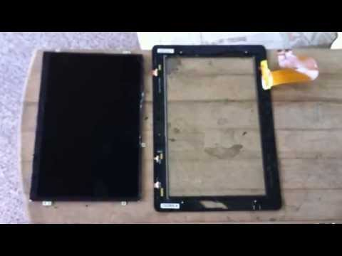 ASUS Transformer Tablet Repair (DO NOT) - TF201 Eee Pad Prime Digitizer LCD Screen Replacement
