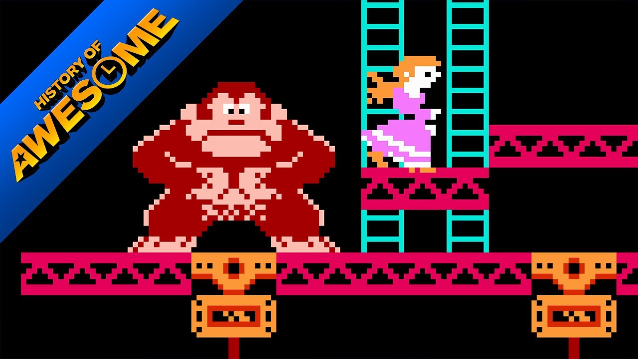 Donkey Kong, An Arcade Classic and the Nintendo Icon Predecessor