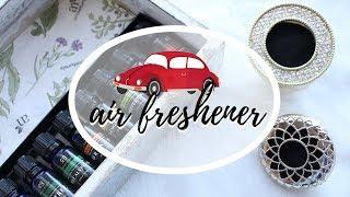 DIY Essential Oils Car Freshener