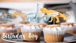 How to Make Dinosaur Cake Toppers - Sizzix Lifestyle