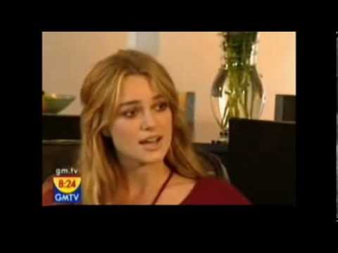 Keira Knightley interviewed about her Dyslexia in 2005