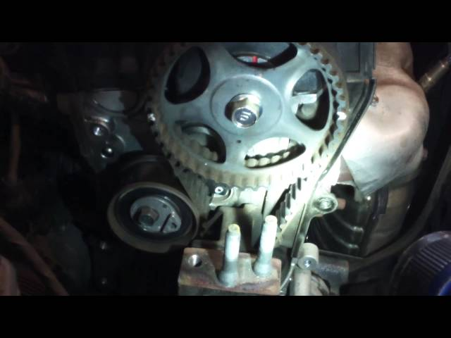 Timing belt water pump replacement 2007 - 2010 Hyundai ...