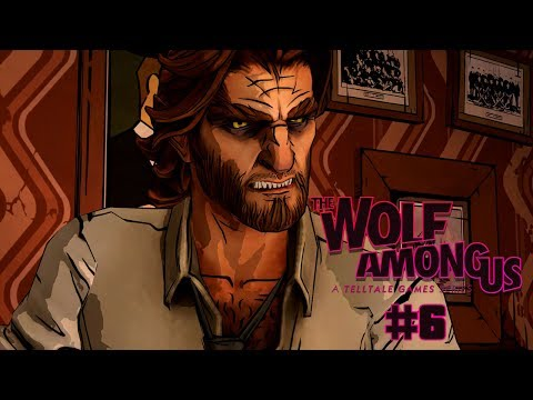NA PELE DO LOBO MAU | The Wolf Among Us #6 - Episode 1 - FAITH