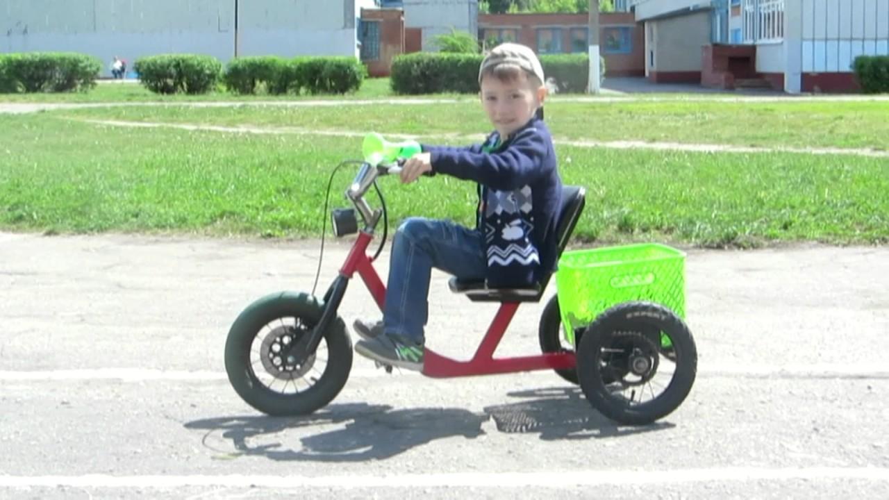 Велосипед для детей своими руками 100