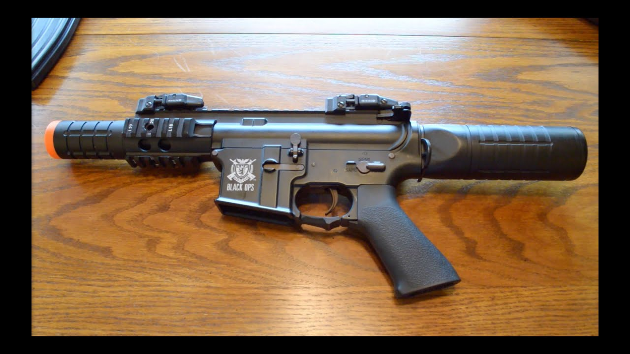 Airsoft guns assault rifles m4