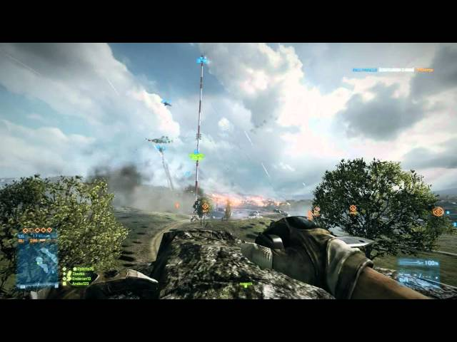 Battlefield 3: How to Destroy Antenna on Caspian Border