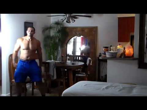 Muscle God Dancing To Busta Rhymes - Gimme Some More