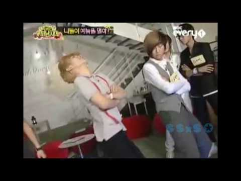 Key, Jonghun, and Seunghyun dancing to Abracadabra Music Videos