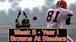 ESPN NFL 2K5 - Cleveland Browns At Pittsburgh Steelers - Week 5