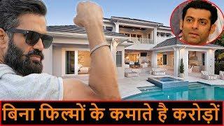 जानिए बिना फिल्मों के कैसे कमाते है सुनील शेट्टी अरबों रूपये सलमान भी हैरान। Sunil shetty PBH News