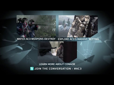 Cinematic Television Commercial | Assassin's Creed 3 [North America]