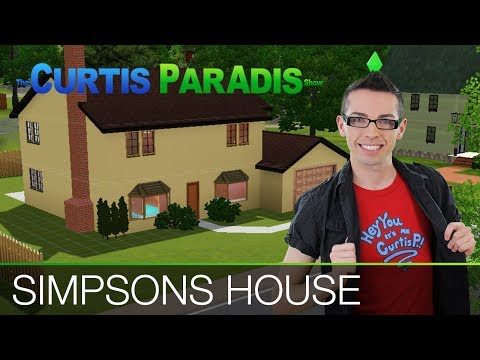 Building Simpsons House In Sims 3