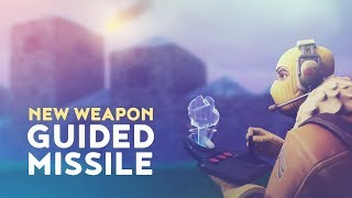 NEW WEAPON: GUIDED MISSILE - ROCKET RIDES! (Fortnite Battle Royale)