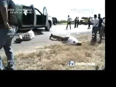 ZETAS AUTORES DE LA EJECUCION DE TORRE CANTÚ Video