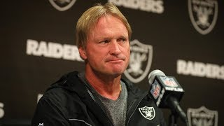 Coach Gruden recaps matchup with Seahawks, team heading into the Bye Week
