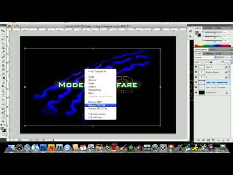 Photoshop MW2 Tutorial Part 2
