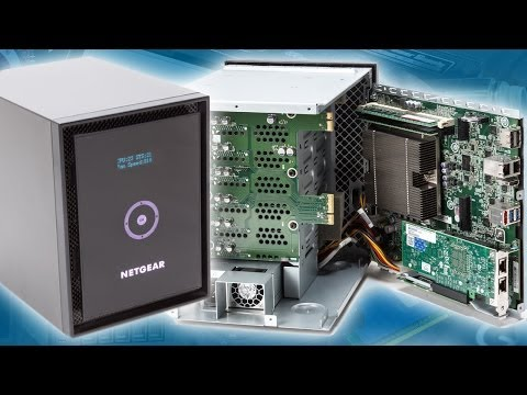 Netgear ReadyNAS RN716X review - Hardware.Info TV (Dutch)