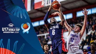 Dominican Republic v USA - Full Game - Round of 16 - FIBA U17 Basketball World Cup 2018