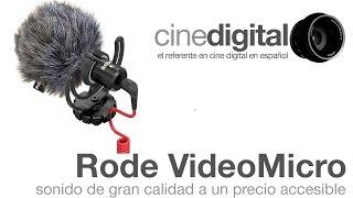 Rode VideoMicro - Audio de gran calidad a un precio muy accesible - CineDigital.tv