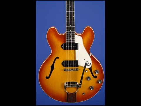 Phil gets a little cray! 1961 Epiphone Casino E230-TD 01394