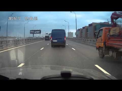 Автоподстава не удалась Звенигородское шоссе.