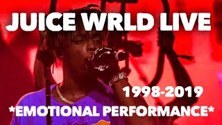 Juice WRLD Performs Legends Tribute to XXXtentacion, Nipsey Hussle, Mac Miller at ComplexCon Chicago