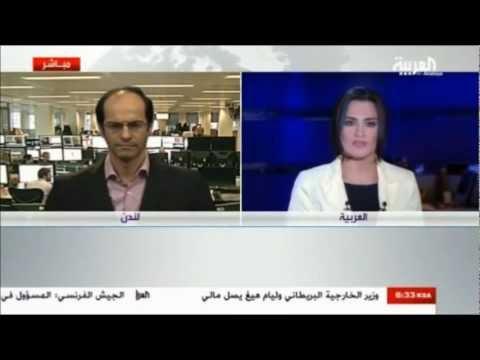 أشرف العايدي على قناة العربية --  4 مارس 2013 Chart