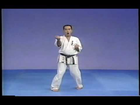 karate kyokushin sanchin kata Image 1