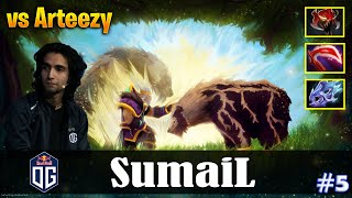 SumaiL - Lone Druid Safelane | vs Arteezy (NP) | Dota 2 Pro MMR Gameplay #5