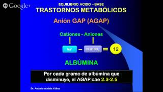 CURSO DE EMERGENCIAS - ACIDOSIS METABOLICA